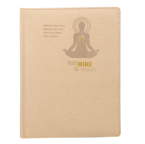 Heart Mind & Soul Diary Thermo