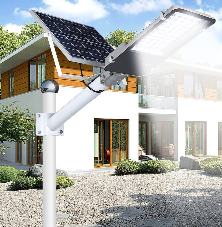 9~40 Watts Dusk To Dawn Solar Street Lights For Remote Location