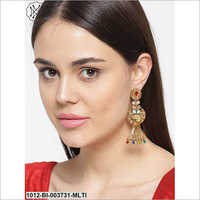 Ladies Party Wear Hanging Earring
