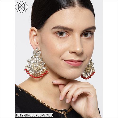 Ladies Stuuded Casual Earring