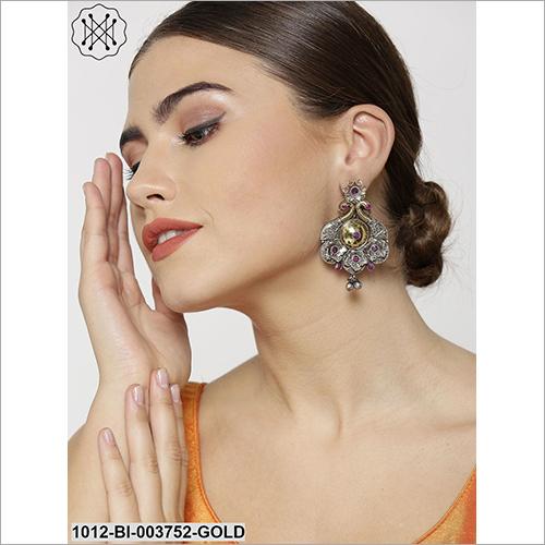 Ladies Designer Silver Earring