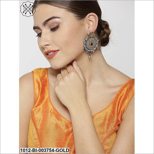 Crystal Cut Fancy Earring