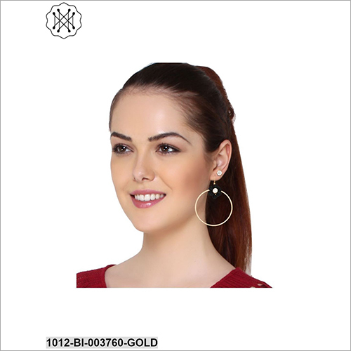 Ladies Round Earring