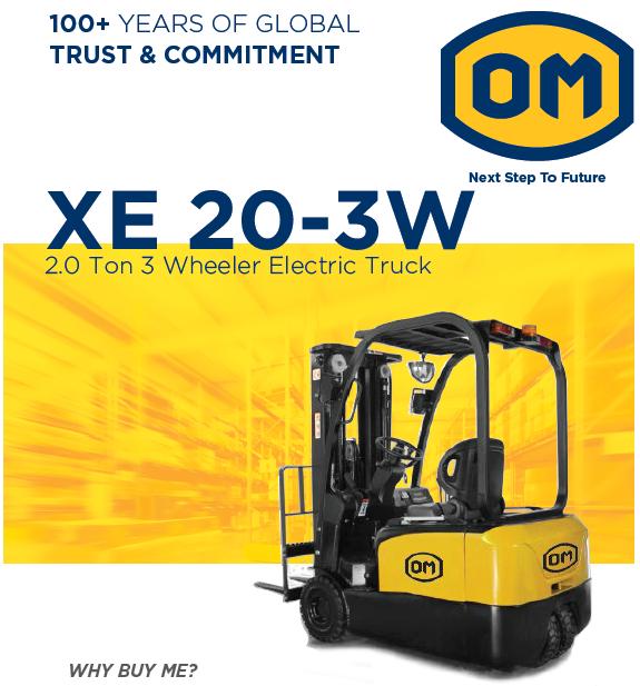 2.0 Ton Electric Forklift Truck OM