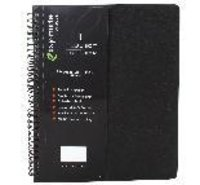 B-5 Size pvc sheet wiro note book - 160 pages