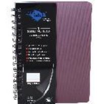 A-5 Size pvc sheet wiro note book - 160 pages