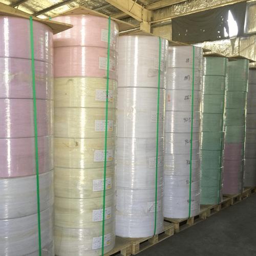 carbonless paper reel