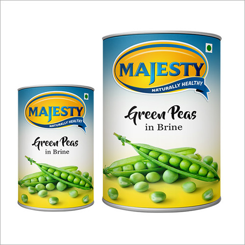 Green peas can