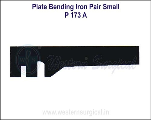 Plate Bending Iron Pair Small