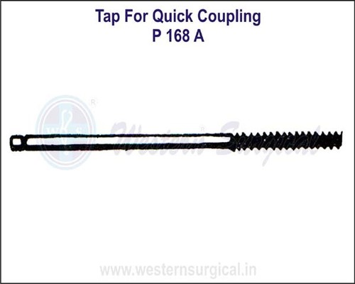 Tap for Quick Coupling