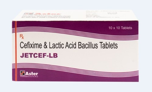 Cefixime Lactobacillus Spores Tablet