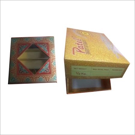500 gm Sweet Packaging Box