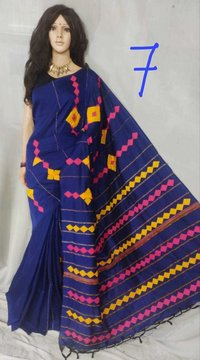 khesh applique saree