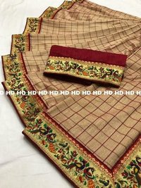Heavy Vichitra Silk