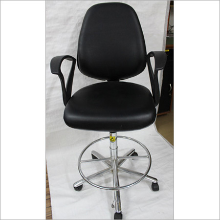 ESD Safe Chair With Full Back & Hand Rest