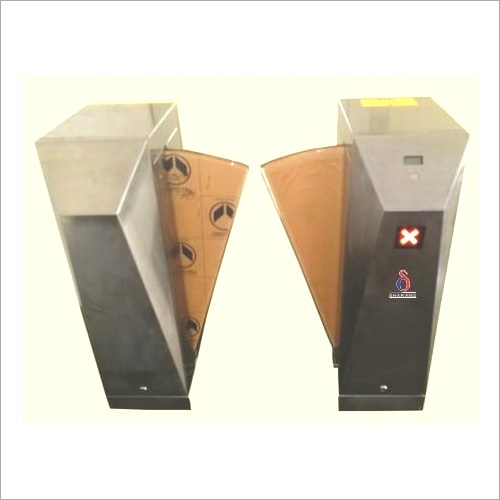 Access System With Turnstile Or Flap Barrier