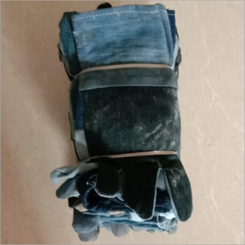 Black Jeans Hand Gloves