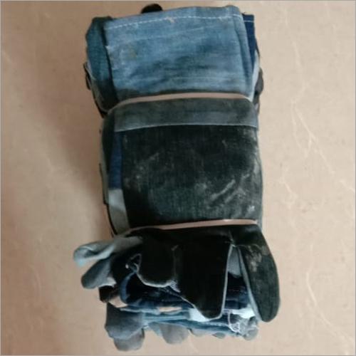 Black Jeans Hand Gloves