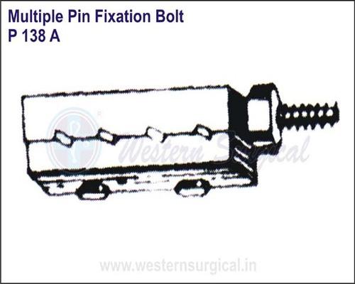 Multiple Pin Fixation Bolt