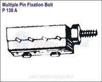 Multiple Pin Fixation Bolt
