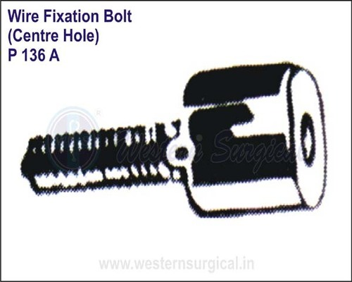 Wire Fixation Bolt (Centre Hole)