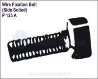 Wire Fixation Bolt