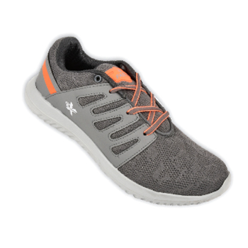 FX-3003 Atlas Dark Grey and Orange Shoe