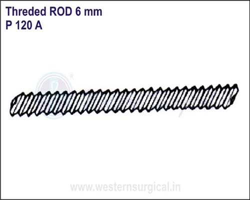 Threded ROD 6 mm