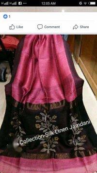 80 Count silk linen jamdani