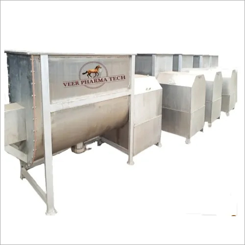 Fertilizer Powder Mixing Machine