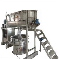 Single Shaft Ribbon Blender
