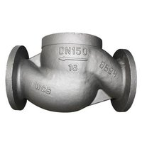 Precision Casting Low-Alloy Steel Two Way Regulating Valve