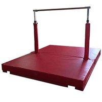 gymnastic equipment horizontal bar gymnastics bar with mat for kids