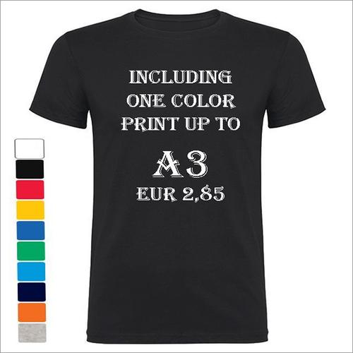 150 Gsm 100% Ring Spun Cotton T-Shirts