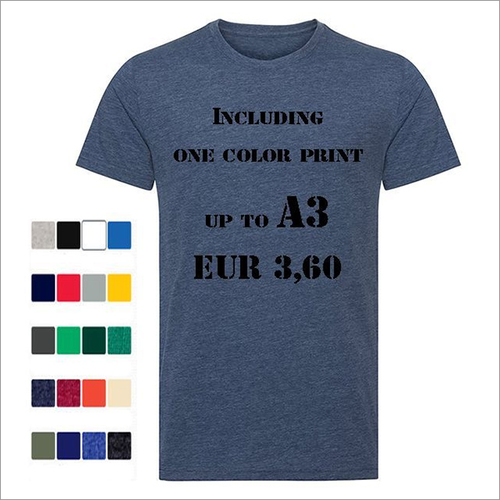 150 Gsm 100% Soft Ring Spun Cotton T-shirts