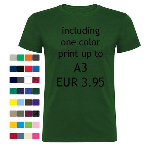170 Gsm 100% Ring Spun Cotton T-shirts