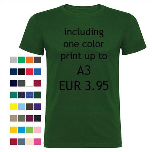 170 Gsm 100% Ring Spun Cotton T-shirts