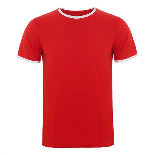 170 Gsm 100% Ring Spun Cotton Ringer T-shirt