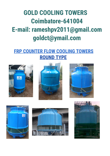 Cooling Tower Manufacturer In Tamil Nadu