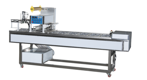 Fully Automatic Meal Tray Sealing Machine