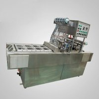 Fully Automatic Rectangle Tray Sealing Machine