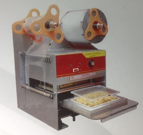 Semi Automatic Rectangle Tray Sealing Machine