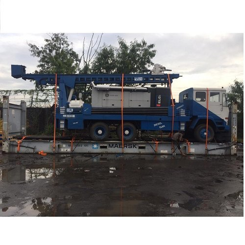 300 Meter Hot Sale Good Price Skid Mounted Drilling Rig