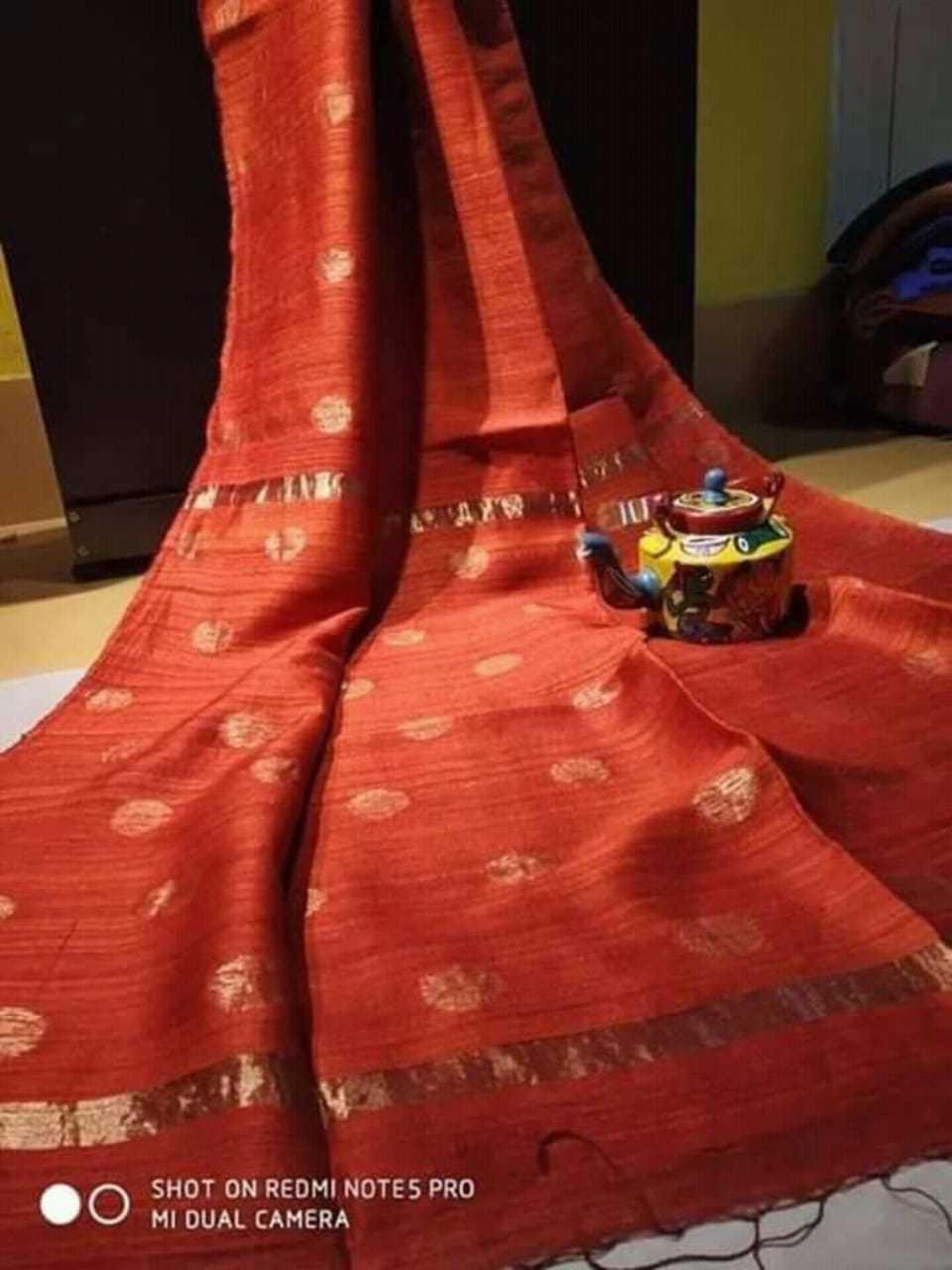 Pure Matka ball design jamdani saree