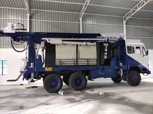 Refurbished Ashok Leyland Truck Mounted Drill Rig