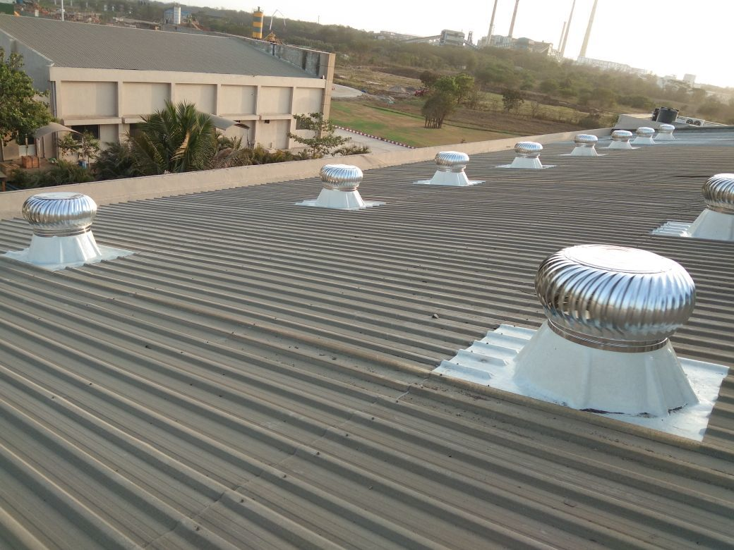 FRP Base Wind Driven Turbo Air Ventilator