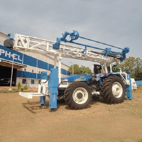 100 Meter Tractor Mounted Water Well Drilling Rig