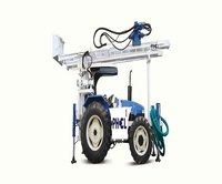 Tractor Mounted  Bore Hole Drill Rig machine