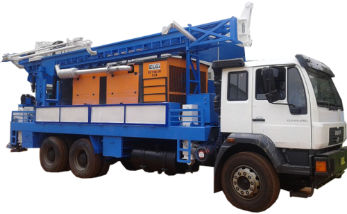 Borewell Water Drilling Rig (MAN Truck)