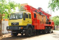 Borewell Water Drilling Rig(MAN Truck)